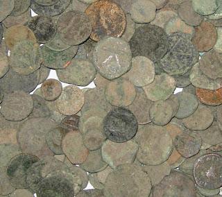 Pago, monedas romanas y Derecho romano