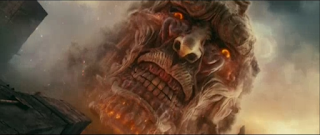 gargantuan titan in attack of titan live action film 2015 part 1