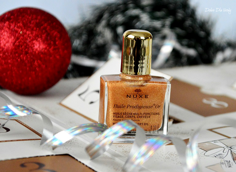 NUXE Beauty Treasures kalendarz adwentowy