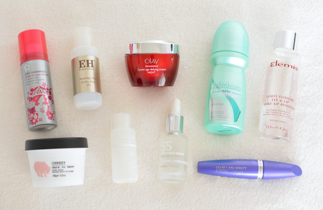 January empties and favourites