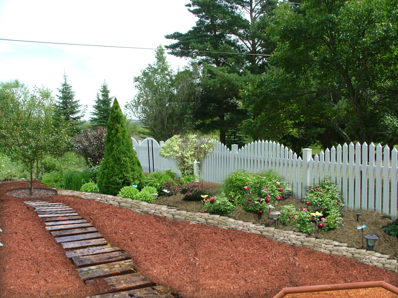 Life short: Landscaping ideas mulch