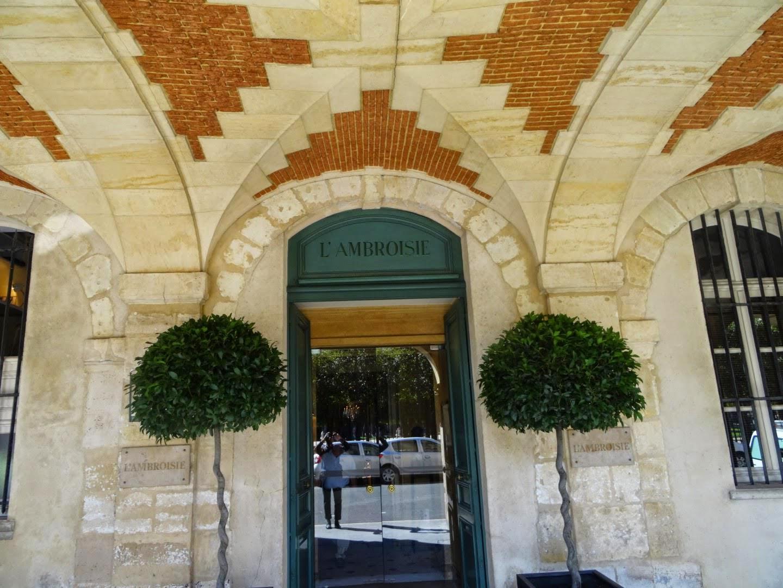 L'Ambroisie mon meilleur restaurant sur Paris 2014.