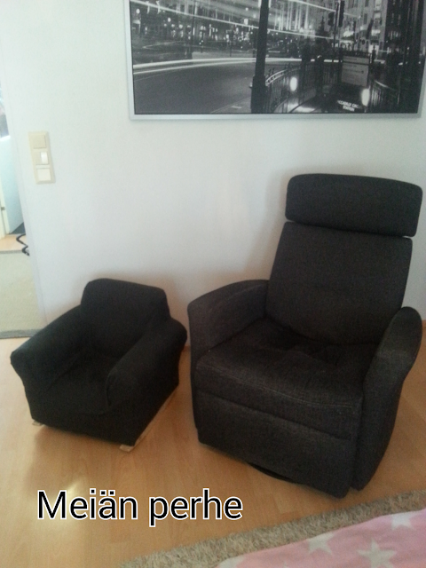itse päällystetty tuoli