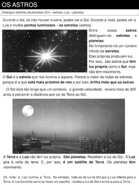 atividades sistema solar 4o ano