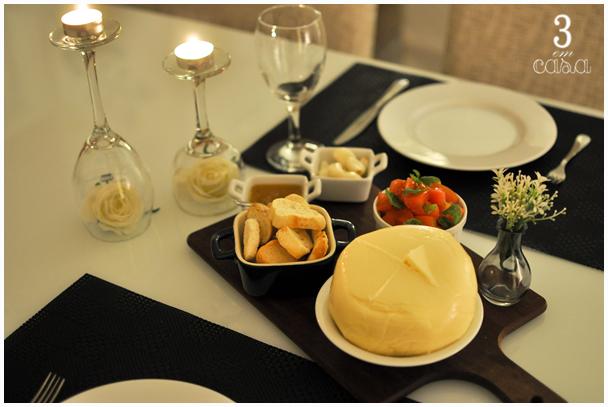mesa posta aperitivos