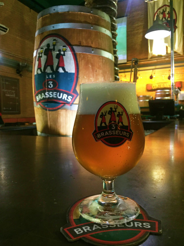 Cerveja sazonal JP Smet Les 3 Brasseurs