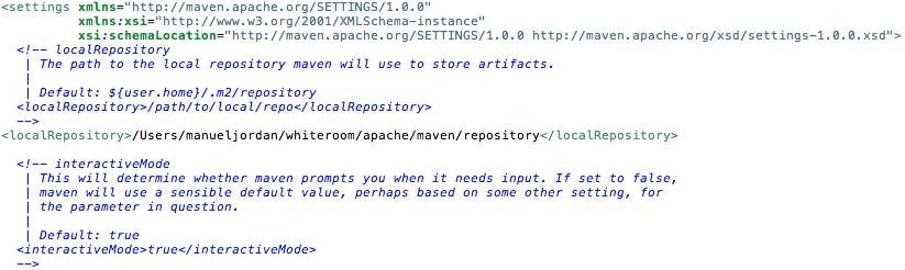 Configuring Apache Maven | Manuel Jordan - dr_pompeii