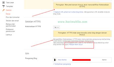 Fitur HTTPS