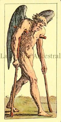 Tarot de Mitelli:El Ermitaño