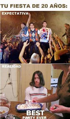 Expectativa vs realidad xD