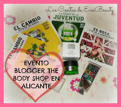 Evento Blogger The Body Shop en Alicante