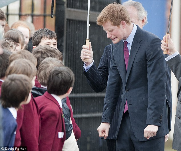 prince harry young
