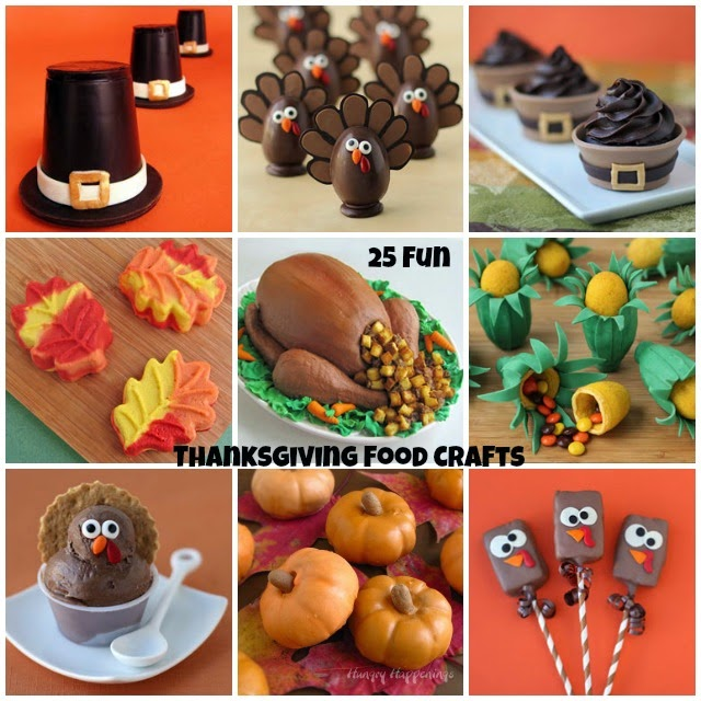 25 Fun Thanksgiving Food Crafts from Hungry Happenings ...