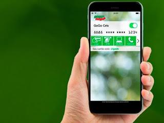 App permite desligar cartão de credito