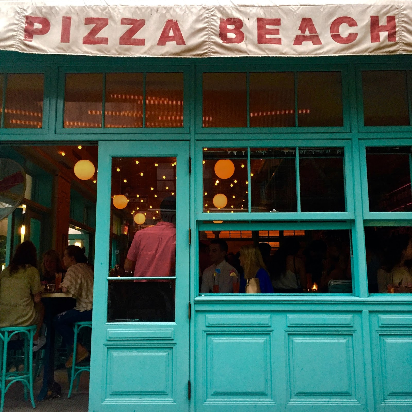 Cutest Places to Eat in New York City Pizza Beach