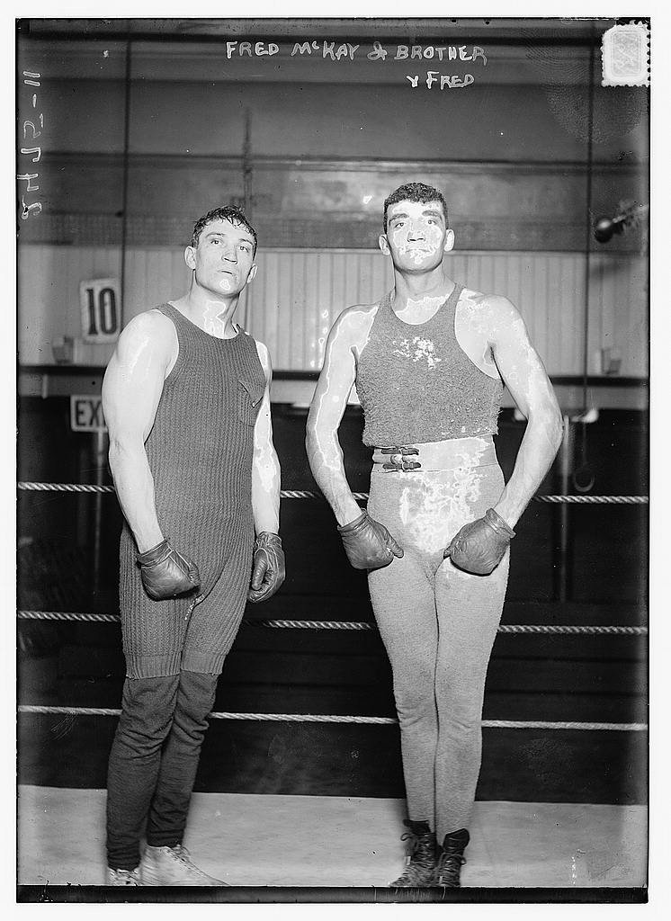 Old Photos of Boxing 100 Years Ago  vintage everyday