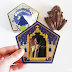 Gilderoy Lockhart Chocolate Frog Card Reveal
