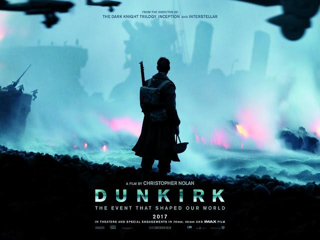 Dunkirk Quad Film Poster