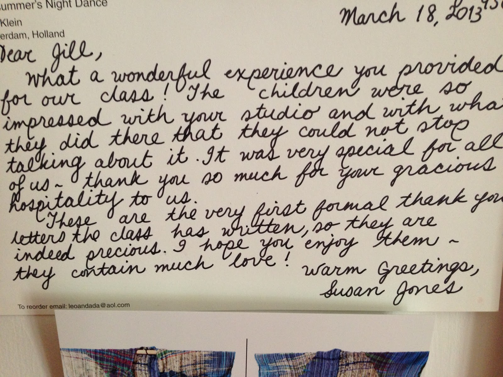 Thank You Letter For My Student Teacher