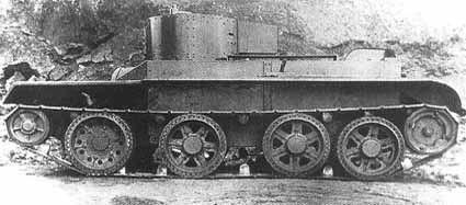 Легкий колесно-гусеничный танк БТ-6