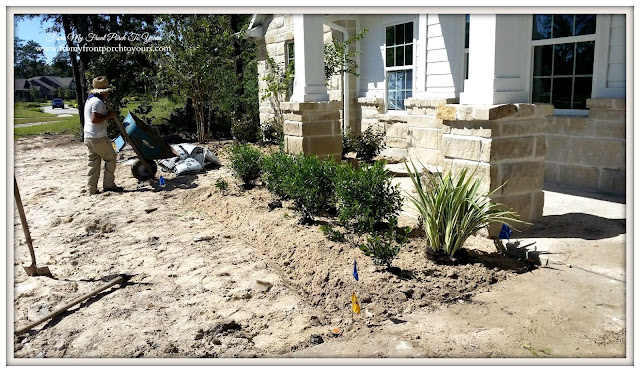 Suburban Farmhouse-Landscaping-Stonework-From My Front Porch To Yours