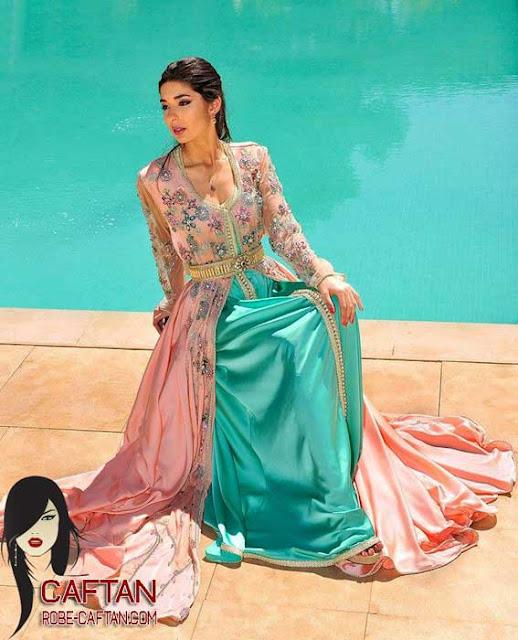 Collection caftans perlée achat en ligne 2016