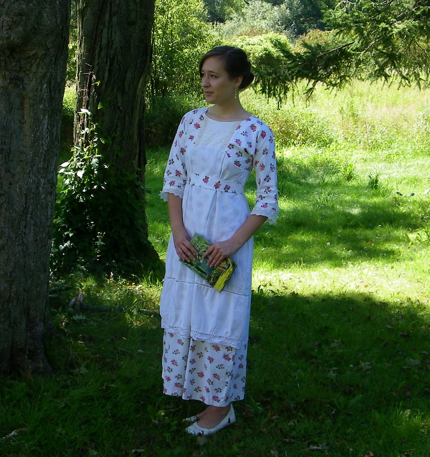 Tea Gown: The Touch Of Whimsy: 1912 Tea Gown