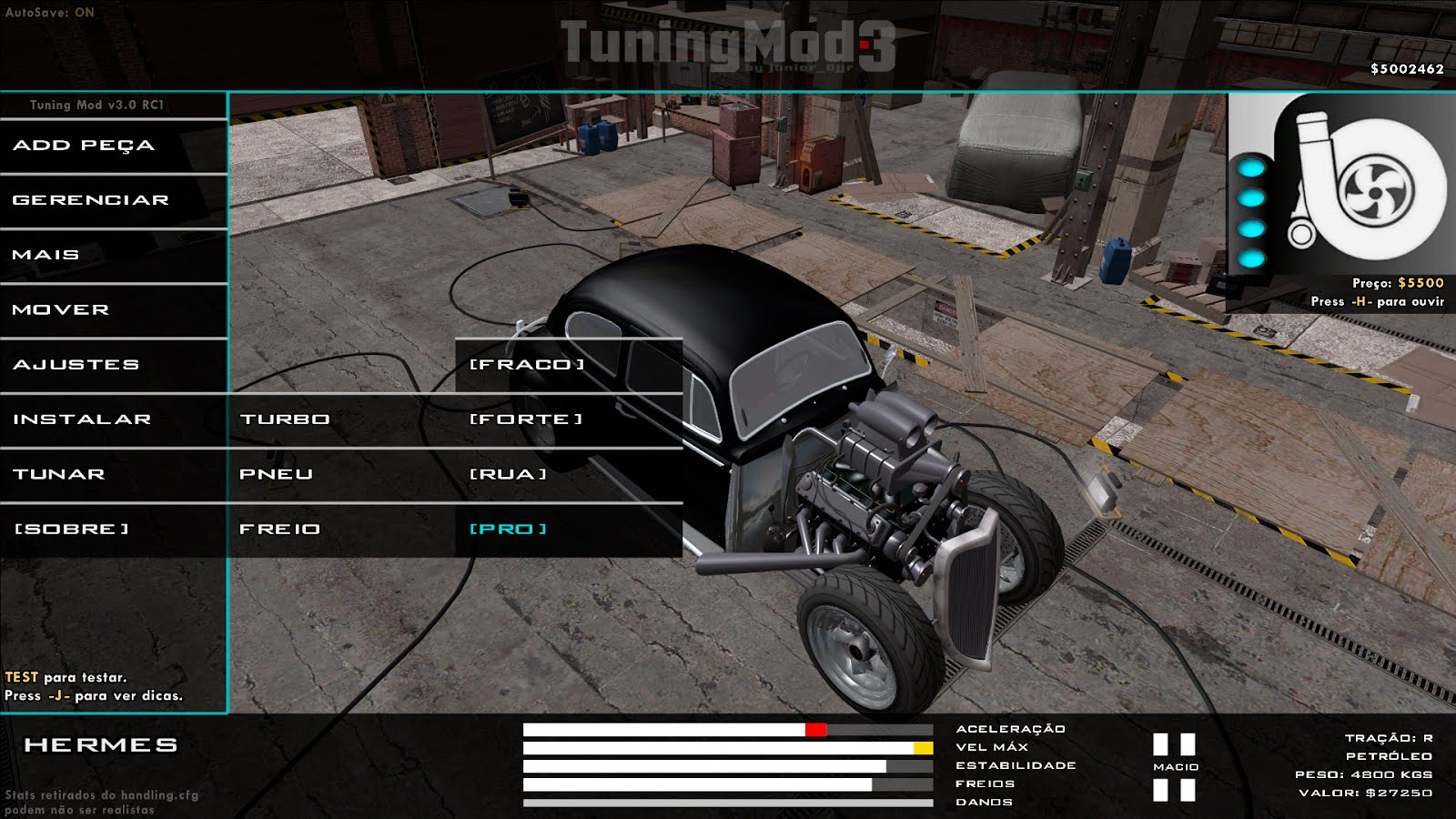 Tuning Mod - Scripts & Plugins - GTAForums