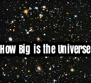 How Big is the Universe??