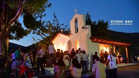 Γιόρτασαν τον Προφήτη Ηλία στο πανέμορφο εκκλησάκι στον Ίναχο Αργολίδας (βίντεο)
