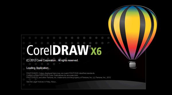 cara software corel draw x6