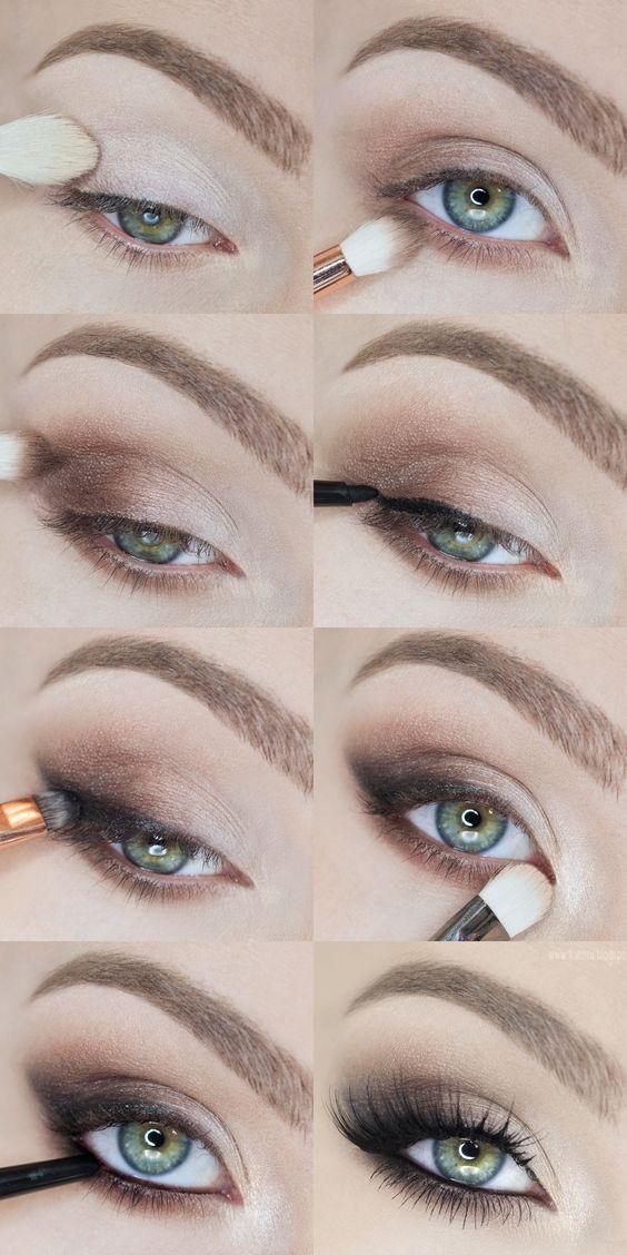 วิธีแต่งตา Soft Smokey Eyes