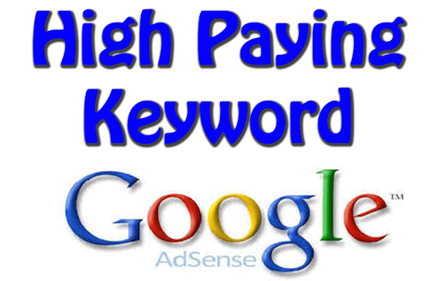 Google Adsense is ane of the finest too driving adapting systems to hit cash from your Google Adsense High Paying Keywords 2016-2017