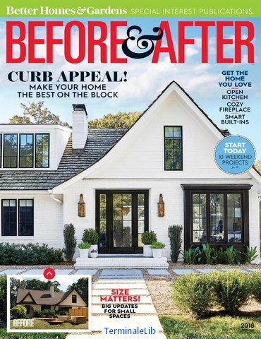Better Homes U0026 Gardens Magazine SE Before U0026 After 2018