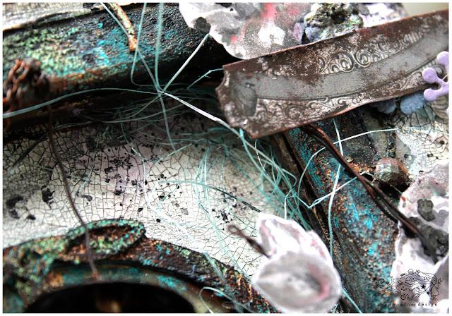 @nastyalena #scrapbooking #mixedmedia #grunge #fantasy #canvas