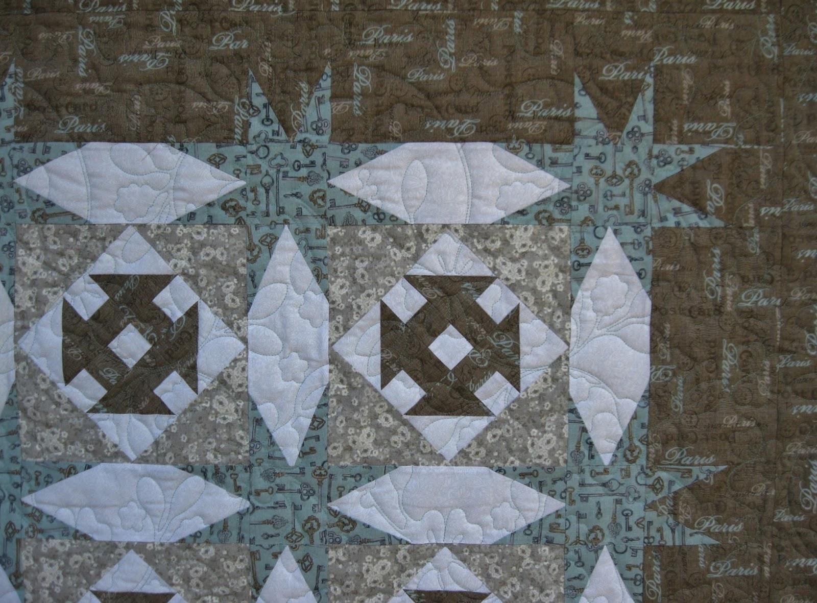 moonbear longarm quilting: donna's linda ballard quilt plus a few
