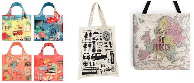 Что подарить путешественнику? идеи подарков для любителя путешествий холщовые сумки с принтом
