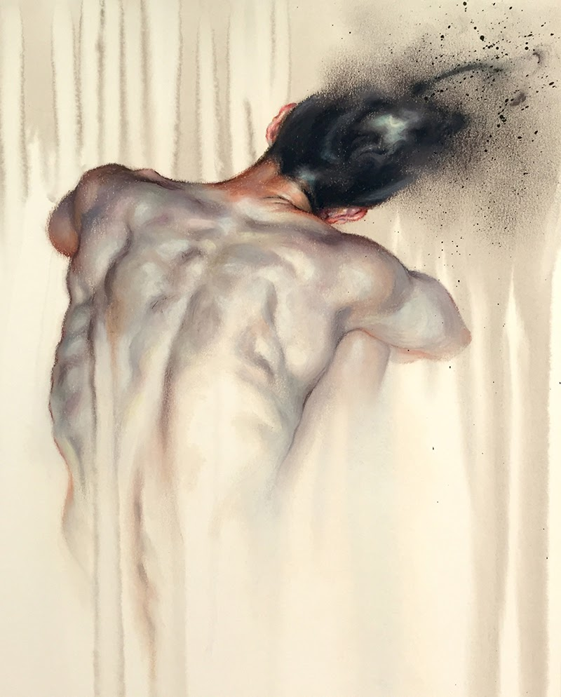 Paintings by Wanjin Gim from Seoul, Korea.