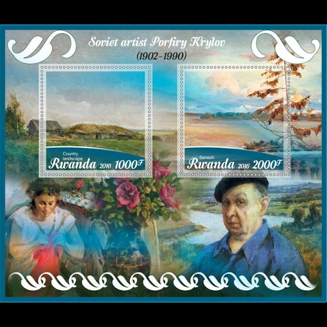 Tableaux de Krylov Porfiri sur Timbre 6