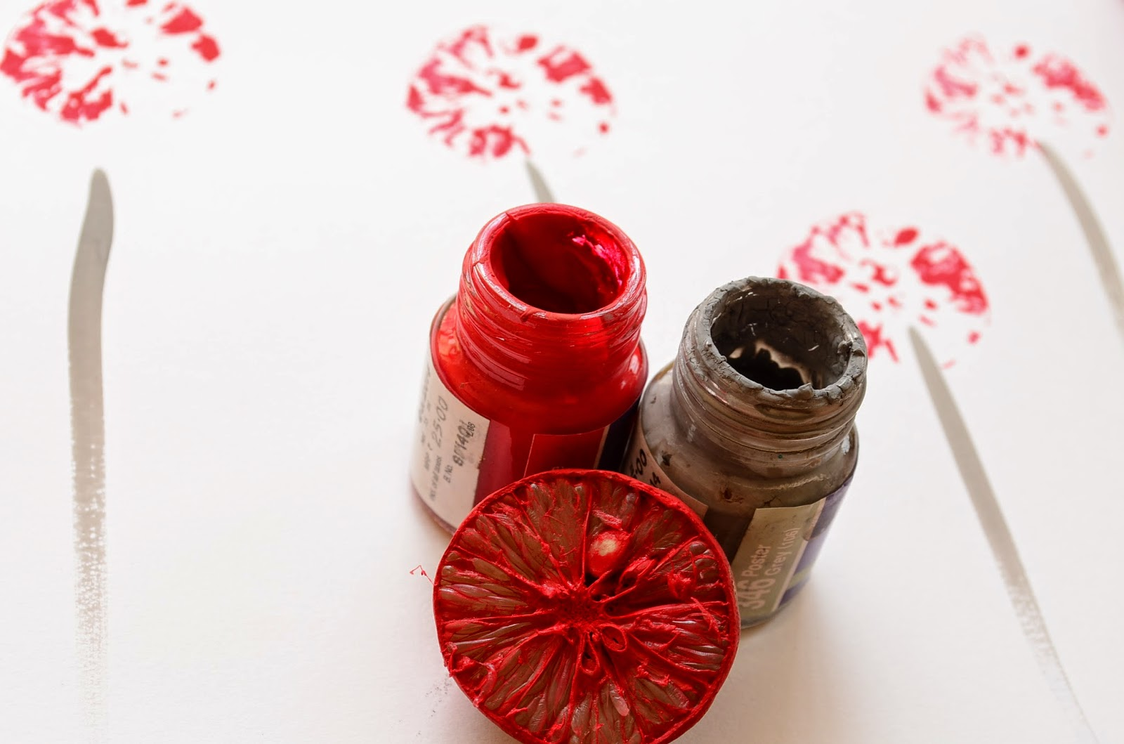 13 Non-Traditional Art Supplies for Preschoolers: Lemon Wedges