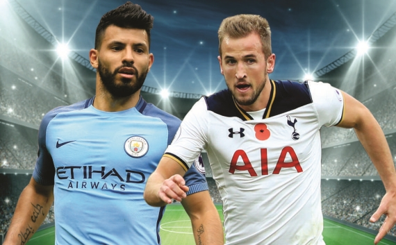 Man City will look to turn their recent slump around when they host an in-form Tottenham side.