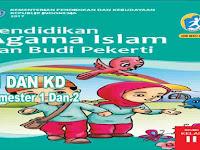 KI dan KD PAI dan BP Kelas 2 SD Kurikulum 2013 Revisi 2017