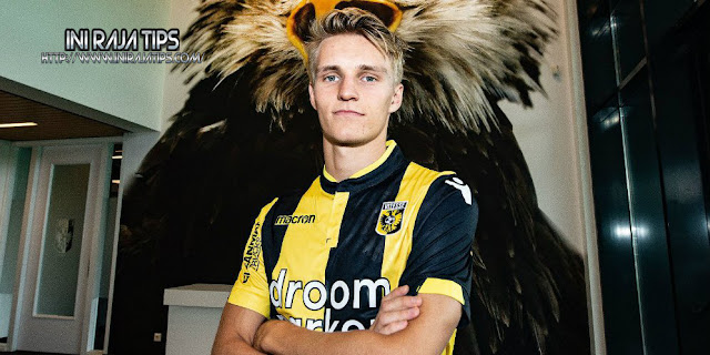 Resmi Odegaard Menjadi Pemain Pinjaman Vitesse