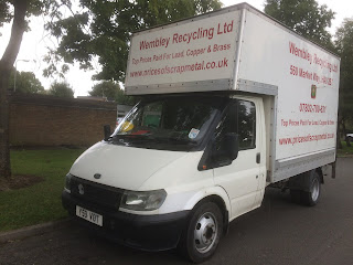 Van for Scrap Metal Collections