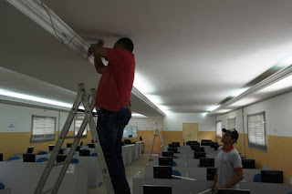 Prefeitura Setorial da UFCG melhora iluminação do campus de Cuité