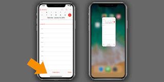 Cara Pergi ke Layar Awal di iPhone X
