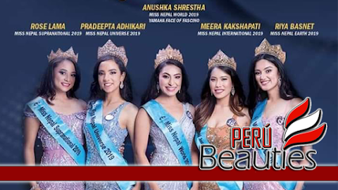 Meera Kakshapati es Miss International Nepal 2019