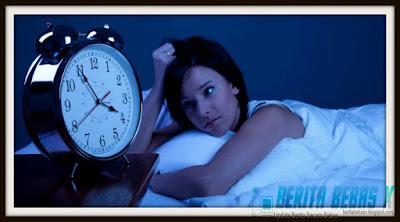 Sehat, penyebab susah tidur, Berita Bebas, Ulasan Berita, tak disangka,