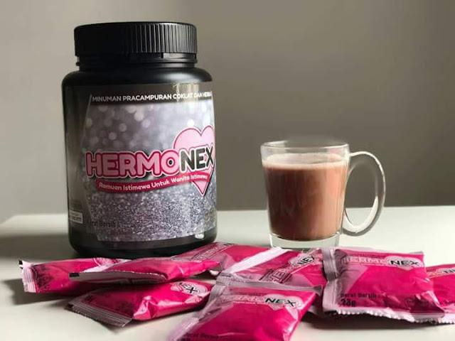 minuman pracampuran coklat dan herba