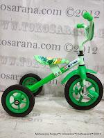 Sepeda Roda Tiga BMX Arava - Green